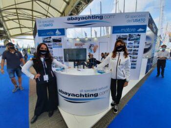 Foto dello stand Abayachting al nautico di Genova